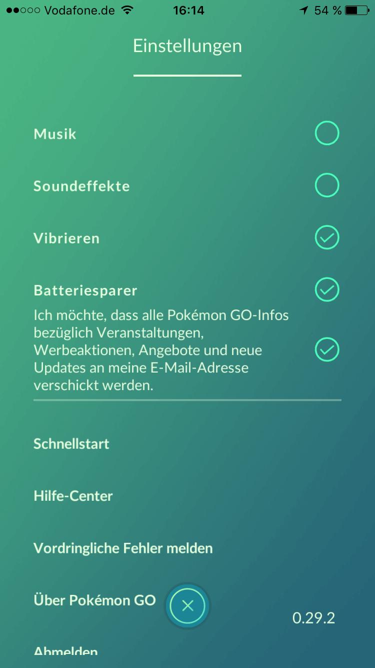pokemon go rauch einsetzen